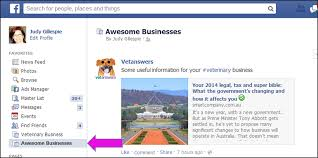your veterinary clients still not be seeing your facebook until that is you scroll to the top on the left hand side menu under favourites you ll now see your awesome businesses interest list tah dah