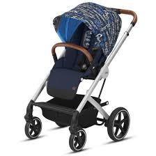 <b>Прогулочная коляска Cybex</b> Balios S Trust blue (с бампером ...