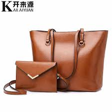 <b>KLY 100</b>% <b>Genuine leather</b> Women handbags 2019 New Classical ...