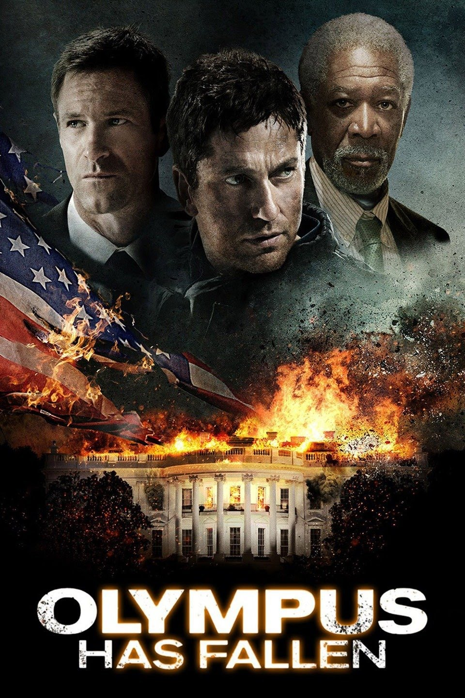 Download Olympus Has Fallen (2013) {Hindi-English} 480p | 720p
