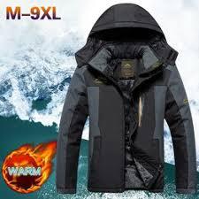 Jackets Men Plus Velvet Padded Warm Fashion Windproof ... - Vova