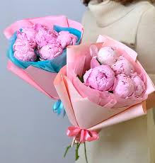 Купить пионы СПб недорого доставка / Салон цветов Цветариус