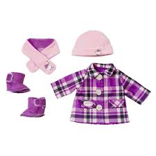 <b>Одежда</b> Модная зима, в коробке <b>Baby Annabell Zapf Creation</b>