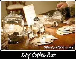 explanation of the diy coffee bar unique diy coffee station