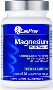 CanPrev Magnesium <b>Multi Mineral</b> 120 <b>v</b>-caps: Amazon.ca: Health ...