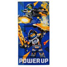 <b>Полотенце LEGO Nexo</b> Knights, цвет синий, размер 70x140, см ...