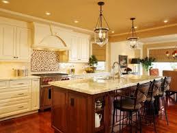Kitchen Island Light Pendants Elegant Kitchen Island With Special Vintage Pendant Lamps For