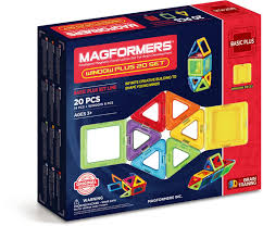 <b>Magformers Магнитный конструктор</b> Window Plus Set 20 Set ...