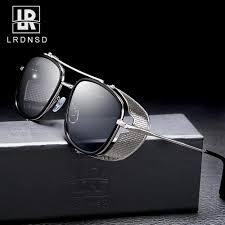 <b>Vintage</b> Steampunk <b>Sunglasses</b> Men <b>Women Brand Designer</b> ...