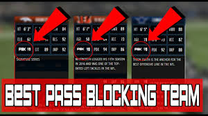 best pass blocking offense chemistry you can get in mut  best pass blocking offense chemistry you can get in mut 17