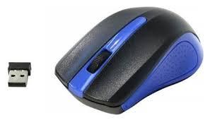 <b>Мышь Oklick 485MW</b> Black-Blue USB — купить по выгодной цене ...