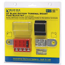 good sam club camping world st blade battery terminal mount fuse block kit
