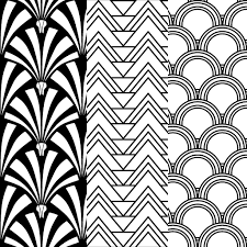 art deco patterns on behance art deco furniture lines