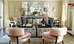 Zebra Living Room Decor Living Room Incredible Picture Of House Beautiful Living Room