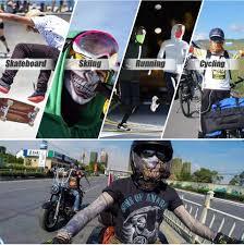 <b>Motorcycle</b> Balaclava Magic Neck Face <b>Mask</b> Ghost Skull <b>Clown</b> ...