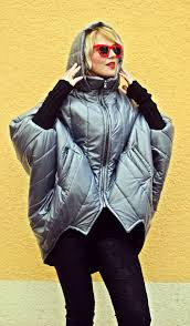 Hooded Coat, Warm Winter Coat Women, <b>Cocoon</b> Padded <b>Jacket</b> ...