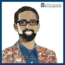 office of the provost vice president for academic affairs zia salim illustrated portrait