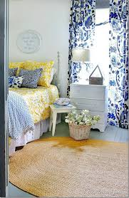 love this blue white and yellow bedroom so inviting via thistlewood farms bedroomappealing geometric furniture bright yellow bedroom ideas