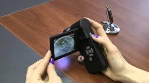 Работа с <b>микроскопом Digimicro Mobile</b> - YouTube