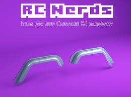 RCN222 Front wheel arches for Team Raffe Jeep <b>xj</b> (7KUKRZEAS ...