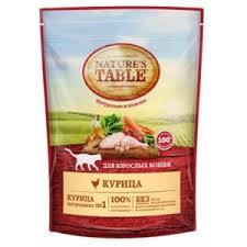 <b>Сухой корм</b> для кошек <b>NATURE'S TABLE</b> | Отзывы покупателей