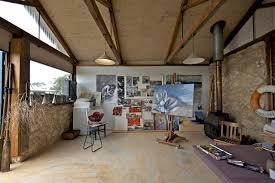 my houzz artist home and studio overlooking kangaroo island rustic home office artist office