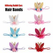 Rabbit <b>Ears Headband</b> in Baby Hair Accessories for sale | eBay
