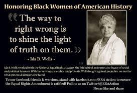 Ida B Wells Quotes Equality. QuotesGram