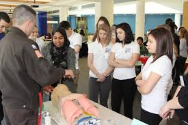 students get hands on introduction to health careers at umass photo gallery