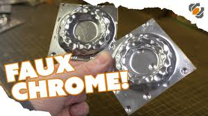 HOW TO - Paint a Faux <b>CHROME</b> Finish on Your Props - TUTORIAL ...