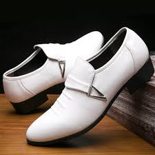 Best Offers for men dress shoes in white list and get free shipping ...