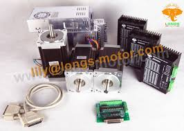 EU/US Free ship!NO TAX!<b>3Axis Nema34</b> Stepper Motor <b>1600oz</b>.in ...