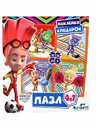 <b>Пазл</b> .9-16-25-36эл.<b>Фиксики</b>.Спорт. 04439 <b>Оригами</b> - купить в ...