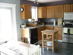 kitchen cabinets wall kitchenjpg gray wall color plus light brown wooden kitchen cabinet and gray count