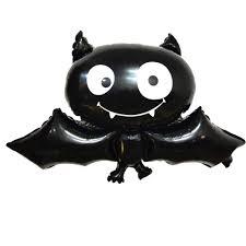 Yinpinxinmao Happy <b>Halloween</b> Foil <b>Balloon</b> Bat Spiral Strap Letter ...