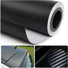 CVANU 3D <b>Carbon Fiber Car</b> Wrap Sheet Roll Film Sticker Decal ...