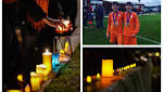 VIDEO: 'The send off they deserve' - Candles line town's promenade as hundreds pay tribute to Ethan and Connor - The Courier