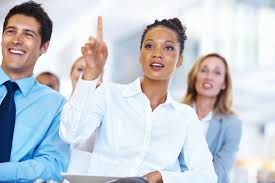 how b school students can choose an mba concentration  mba  a professional w asking a question