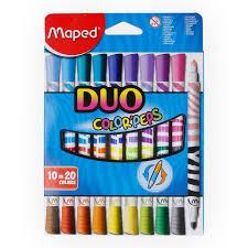 """<b>Maped</b>"" Двусторонние <b>фломастеры</b> DUO <b>COLOR</b>`<b>PEPS</b> в ..."
