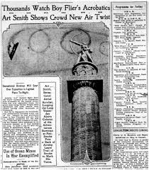 art smith flying at night and the san francisco world s thousands watch boy flier s acrobatics san francisco examiner