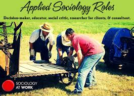 what is applied sociology sociology at work applied sociology roles decision maker educator social critic researcher for clients consultant