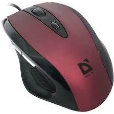≡ <b>Мышь DEFENDER Opera</b> 880 Red - в интернет-магазине ...