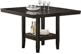 tabacon counter height dining table wine: jcpenney tabacon quot counter height square dining table with wine