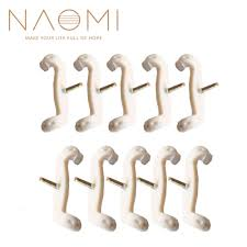 <b>NAOMI 10PCS</b> Adjustable 3/<b>4 4</b>/<b>4</b> Size Violin Shoulder Rest Rubber ...