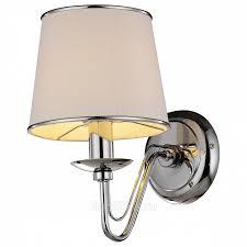 <b>Arte Lamp</b> Aurora <b>A1150AP</b>-<b>1CC бра</b> с абажуром купить в Москве ...
