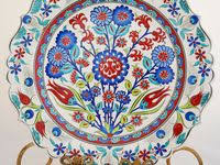 Керамика, Орнаменты, Турецкие <b>плитки</b>