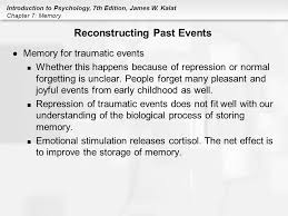 Essay about memory and forgetting  The Notion of Home and the      Essay on Forgetting  Causes and Theories