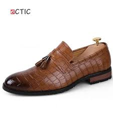 ECTIC New Summer Hip Hop Shoes Men <b>High Quality Leather</b> ...