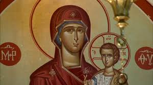 <b>Holy</b> Trinity Greek Orthodox Church crying <b>Virgin Mary</b> moved ...