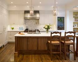 calacatta marble kitchen waterfall: saveemail dfcbc  w h b p traditional kitchen
